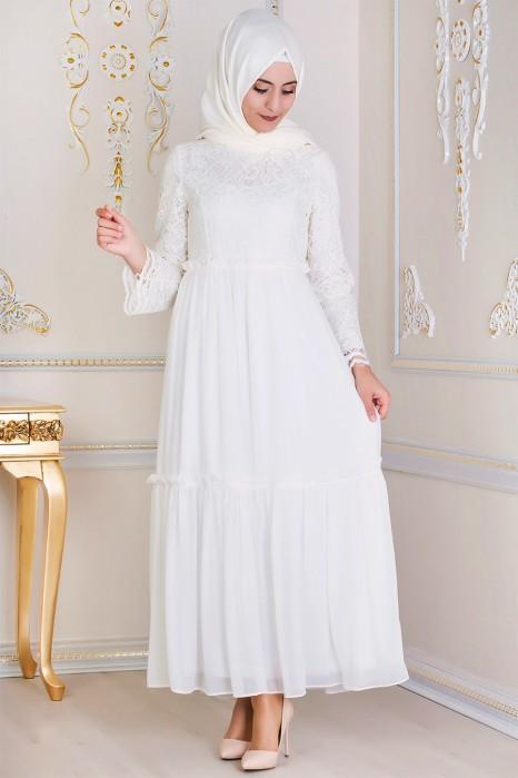 Ekru Dress