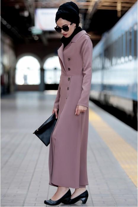 Vison Coat And Pant Suit