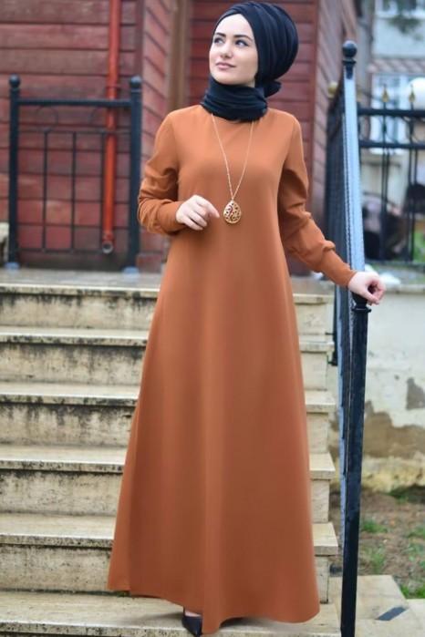 Tan Color Dress