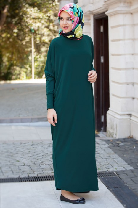 Green Standard Size Dress