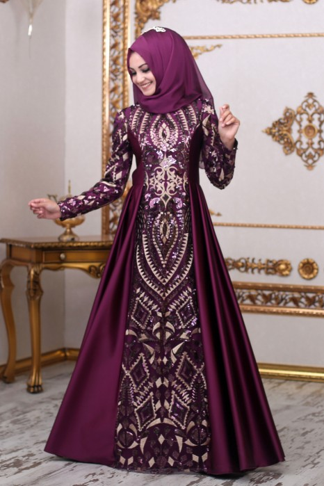 Purple Color Designer Dress