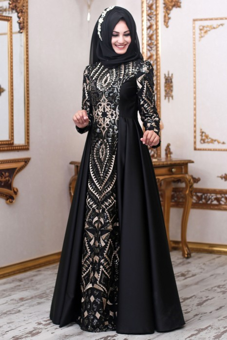 Black Color Designer Dress