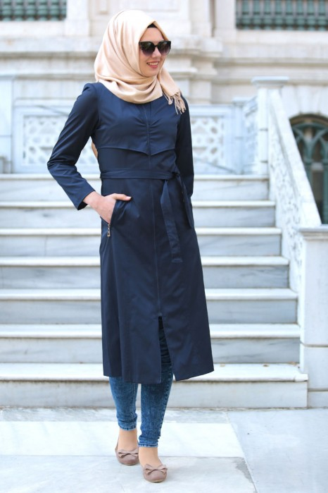 NAVY BLUE COAT
