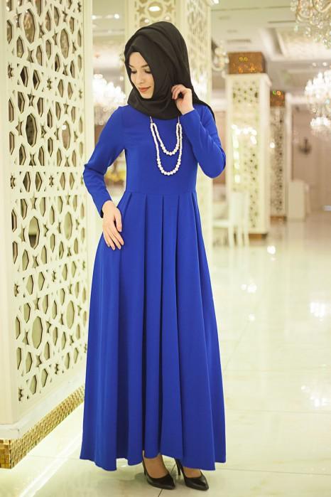 SAX BLUE DRESS