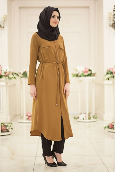 TAN COLOR COAT
