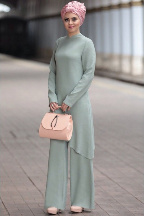 Linen suit - Mint