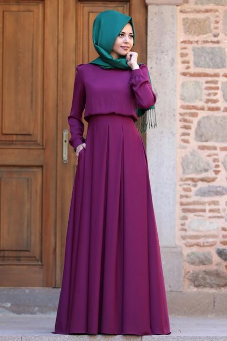 Gulce Fuchsia Dress