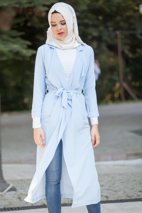 Ice Blue Coat
