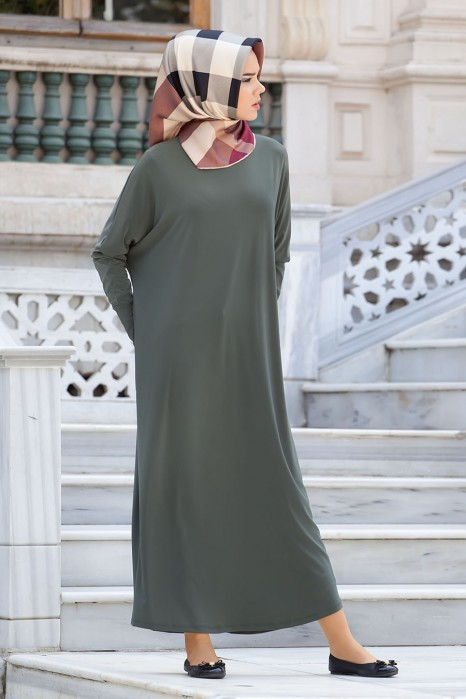 Khaki Standard Size Dress