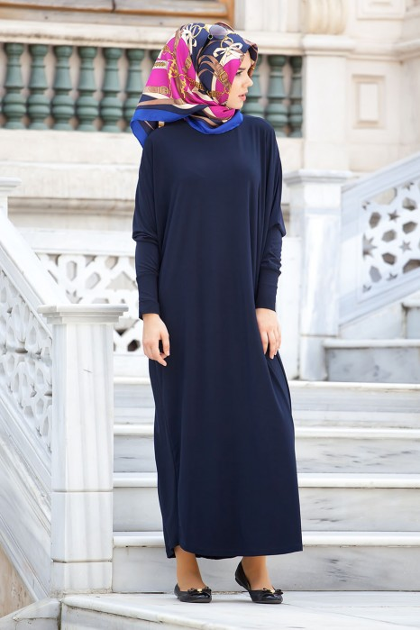 Navy Blue Standard Size Dress
