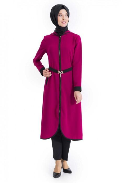 Fuchsia Color Coat