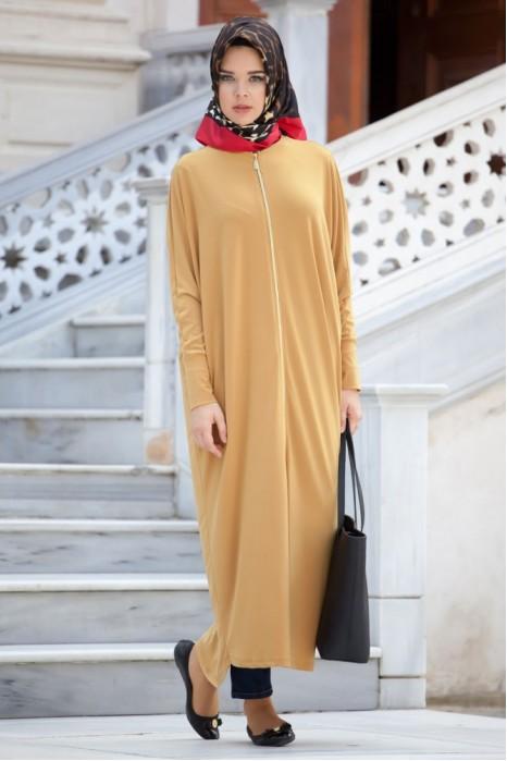 Mustard Standart Size Abaya