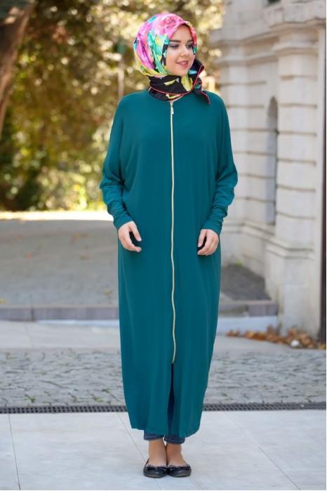 Green Standart Size Abaya