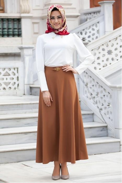Tan Color Skirt