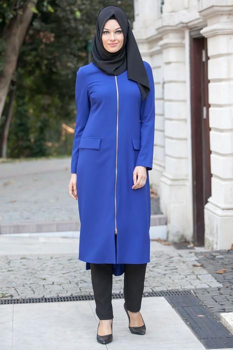 Sax Blue Coat