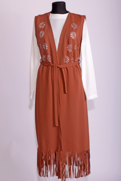 Tan Color Vest