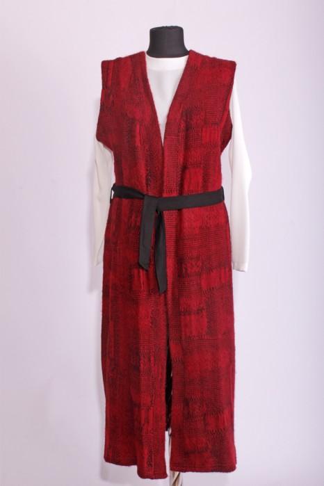 Claret Red Vest