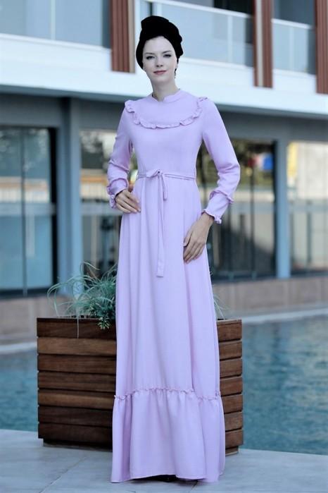 POWDER PINK DRESS