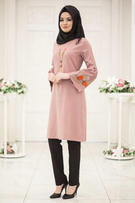 Neclaced Rose Colored Tunic