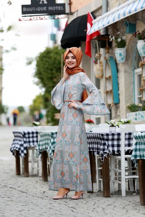 Gulfem Mint Dress