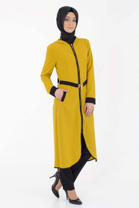 Mustard Color Coat