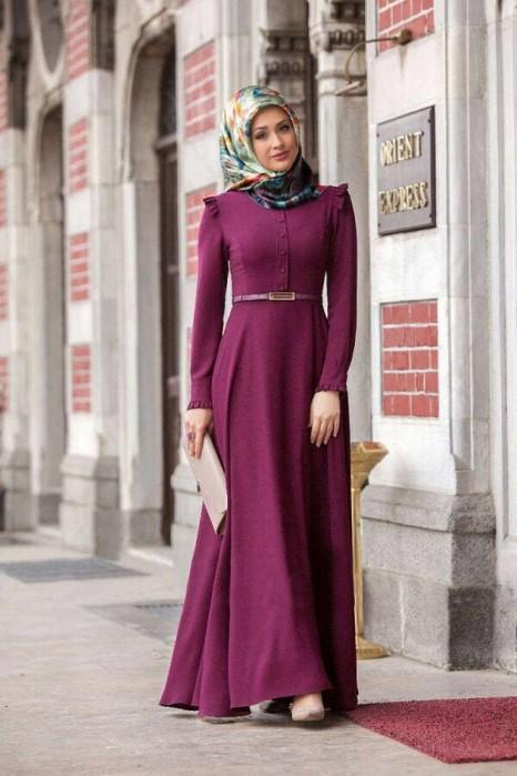 Plum Color Dress