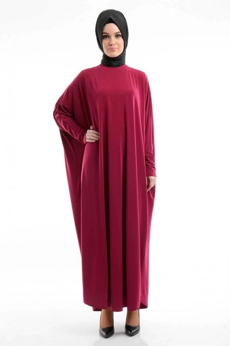 Dark Fuchsia Standart Size Dress