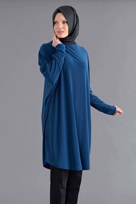 Petrol Blue Standard Size Tunic