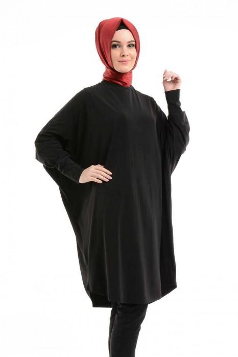 Black Standart Size Tunic