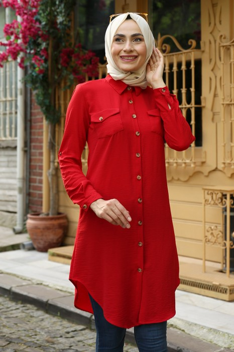 TUNIC - RED COLOR