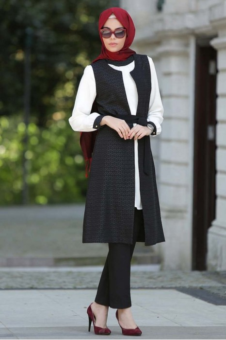 Black Tunic/Vest